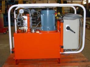 Maintenance de centrale hydraulique